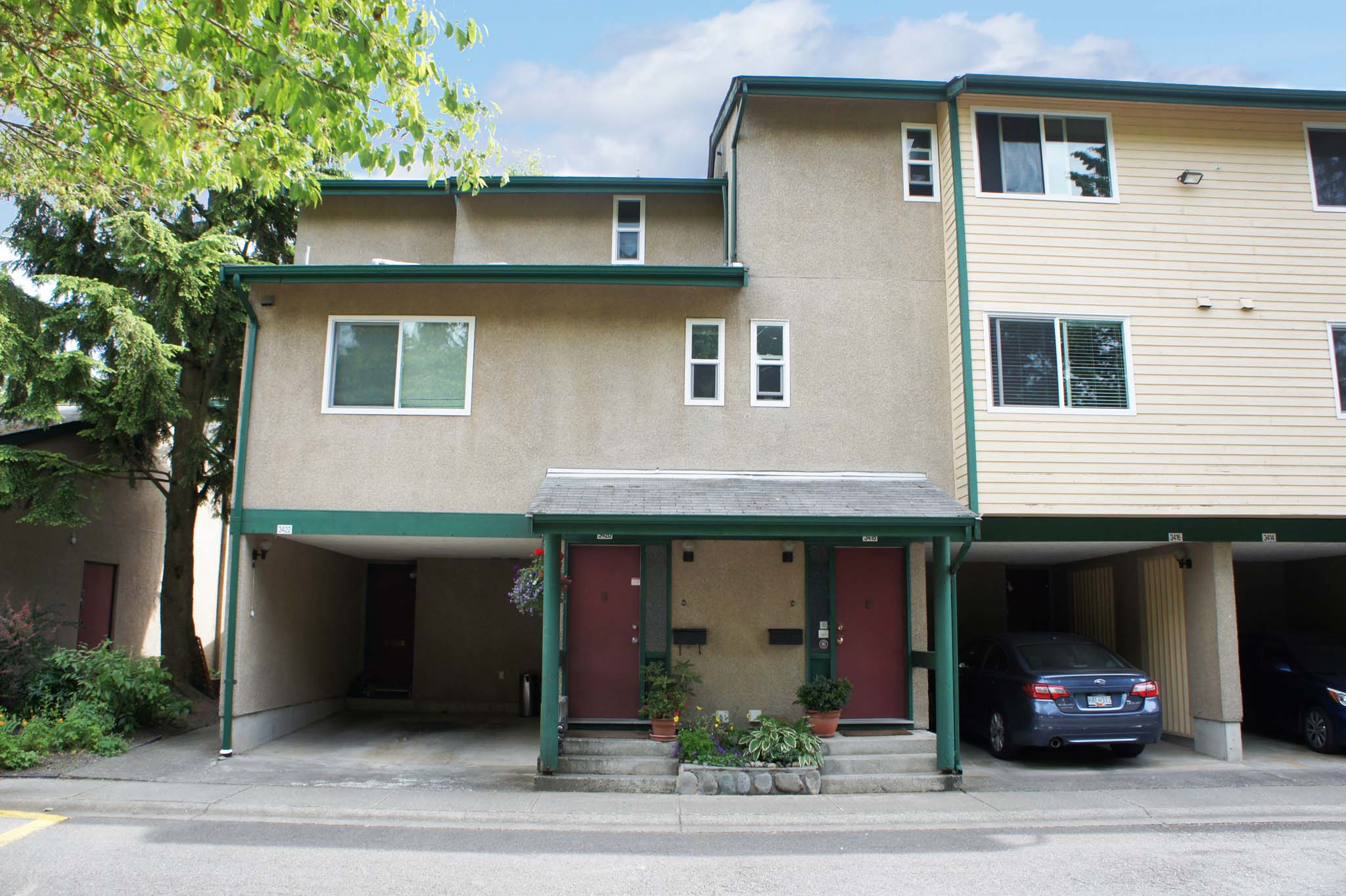 Affordable 2 Bedroom Townhouse In Champlain Heights
